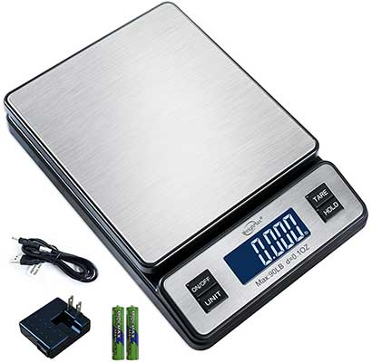 Weighmax Durable Stainless Steel Postal Scale