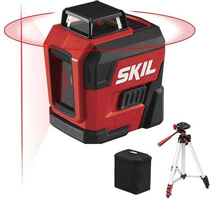 SKIL 65FT 360-degree Self-Leveling Cross Line Laser Level