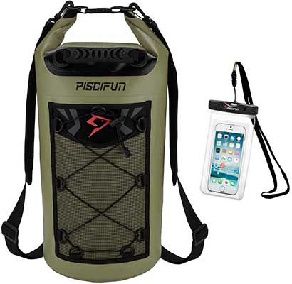 Piscifun Waterproof Dry Bag Backpack 5L