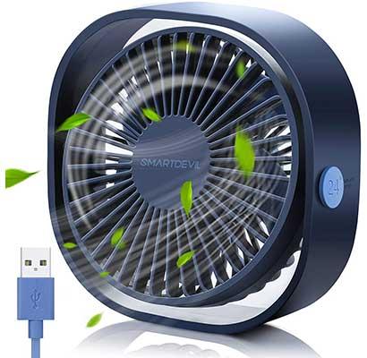 SmartDevilSmall Personal USB Desk Fan