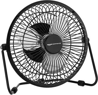 AmazonCommercial 6-Inch Table Fan