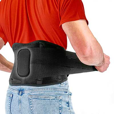 Back Brace by FITGAME Back Support Belt