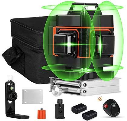 360-degree Laser Level, Elikliv 4d Laser Level 16Lines