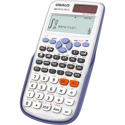 OSALO Scientific Calculator 417 Function 2 Line