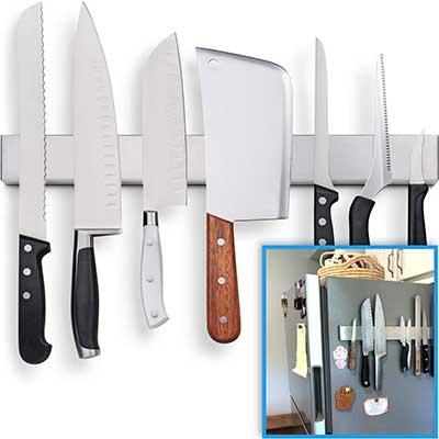 Fridge Applicable Stainless Steel Magnetic Knife Holder