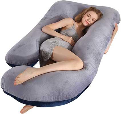 Victorstar Pregnancy Pillow, 57 Inches U Shaped