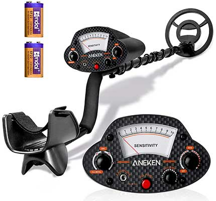 Metal Detector, Professional High-Accuracy -Metal -Detector for Adults &Kids