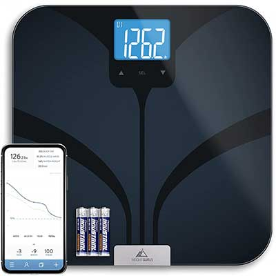 Greater Goods Bluetooth Connected Bathroom-Smart-Scale