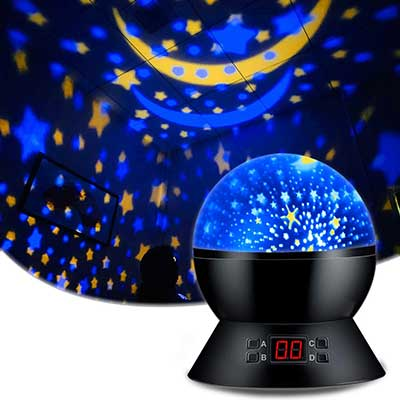 Star Sky Night Lamp for Baby Gifts 1-2 Years Old