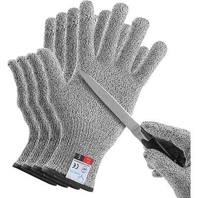YINENN 2 Pairs Cut Resistant Gloves