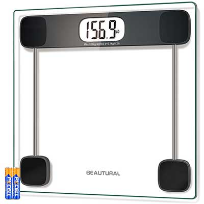 BEAUTURAL Digital Scale for Body Weight