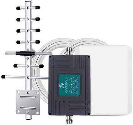 Tri-Band Cell Phone Signal Booster Repeater