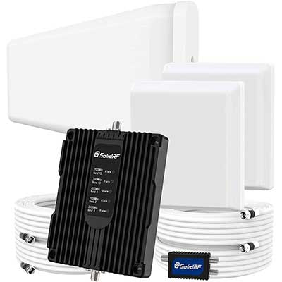 SolidRF Cell Phone Booster for Home Up to 8000 Square feet