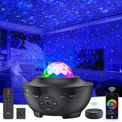 Star Projector 8 in 1 Smart Galaxy Projector