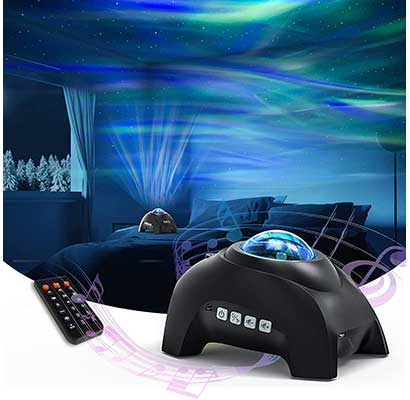 Northern Lights Aurora Projector, Star Projector